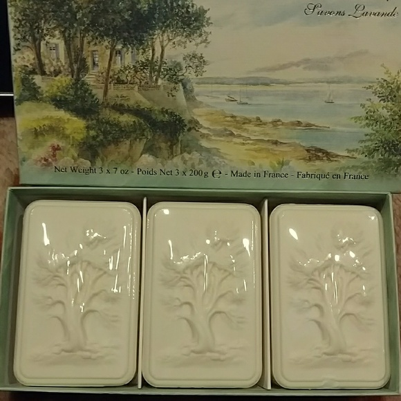 lorcos Other - Lorcos French White Lavender Soap Set